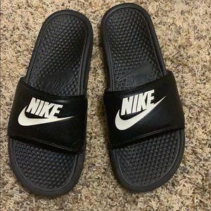 Nike slides - size 10 (mens)